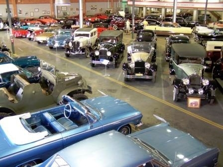 A Glimpse of the inside of the Car Museum!